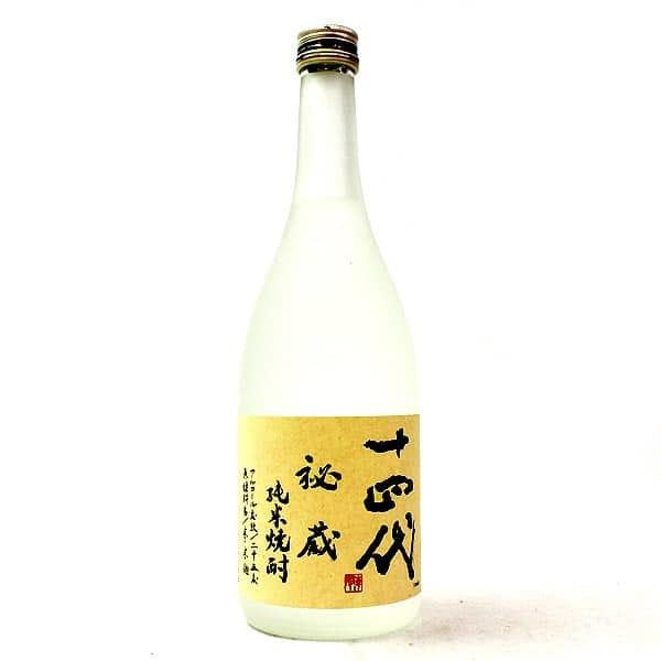 十四代 秘蔵 純米焼酎
