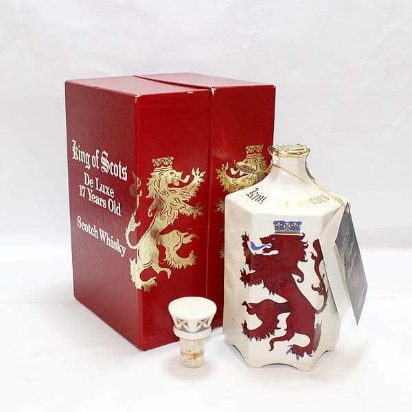 キングオブスコッツ17年 陶器ボトル