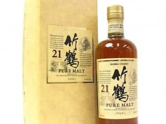 ニッカ竹鶴21年買取ジョイラボ名古屋大須