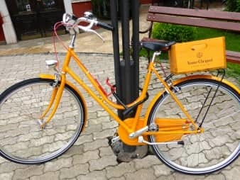 The Veuve Clicquot Delivery Bike