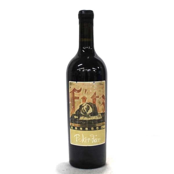 シネクアノンポーカフェイスカリフォルニア赤ワインカルトワイン