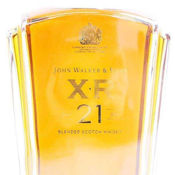 ジョニーウォーカー XR 21年 ラベル