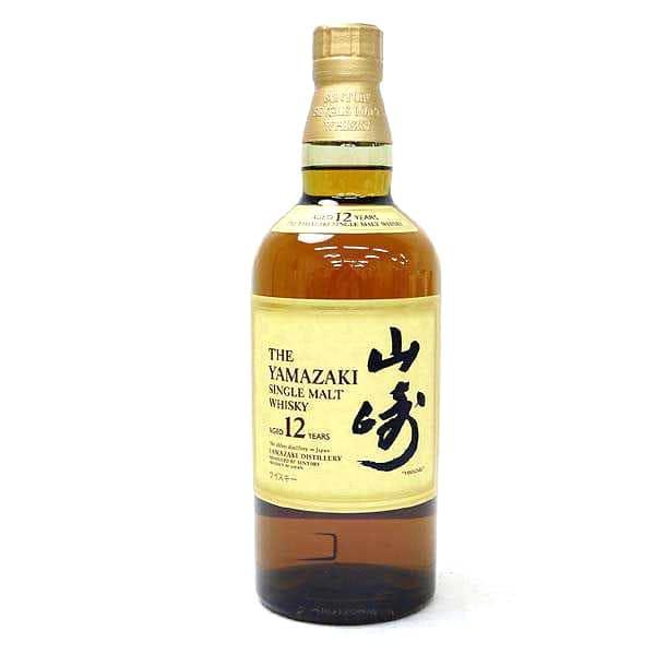 山崎12年国産ウイスキー