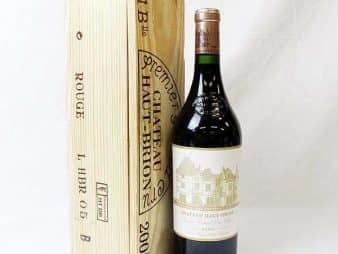 シャトーオーブリオン2005ワイン赤フランス