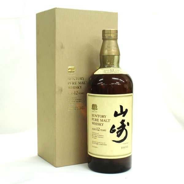 山崎12年ボトル