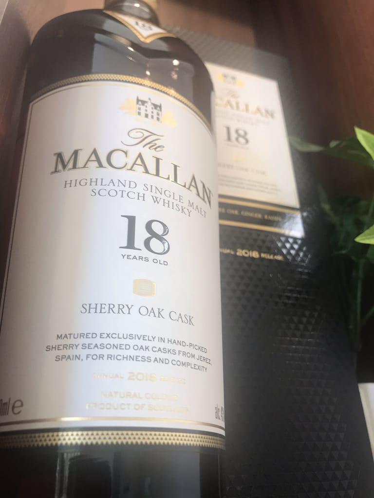 マッカラン18年2018