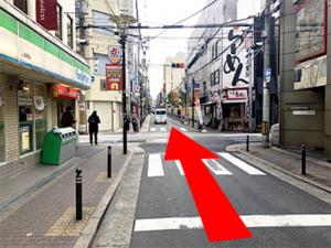 心斎橋駅からの行き方(3)