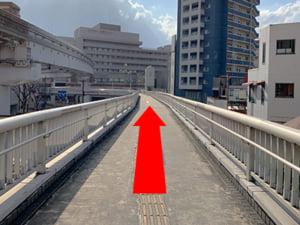 旦過駅からの行き方(2)