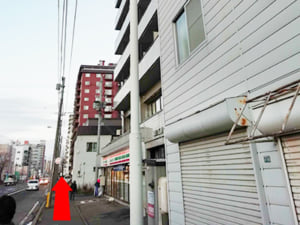 行啓通駅からの行き方(3)