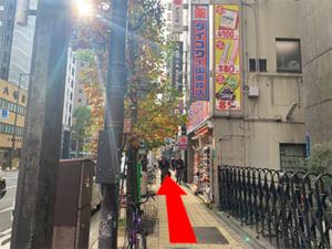 長堀橋駅からの行き方(4)