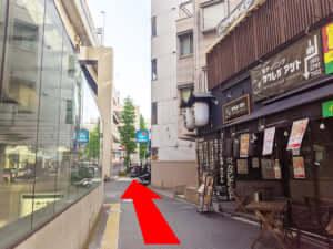 麻布十番駅からJOYLAB六本木店への道のり②