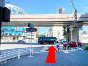六本木駅からJOYLAB六本木店への道のり④