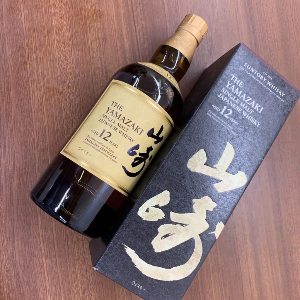 ウイスキー【山崎 12年】のお買取@福岡県北九州市戸畑区