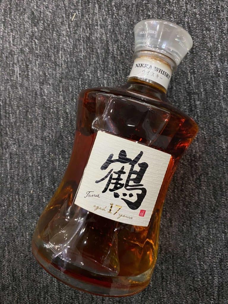 ウイスキー【ニッカ 鶴 17年】のお買取@和歌山県和歌山市